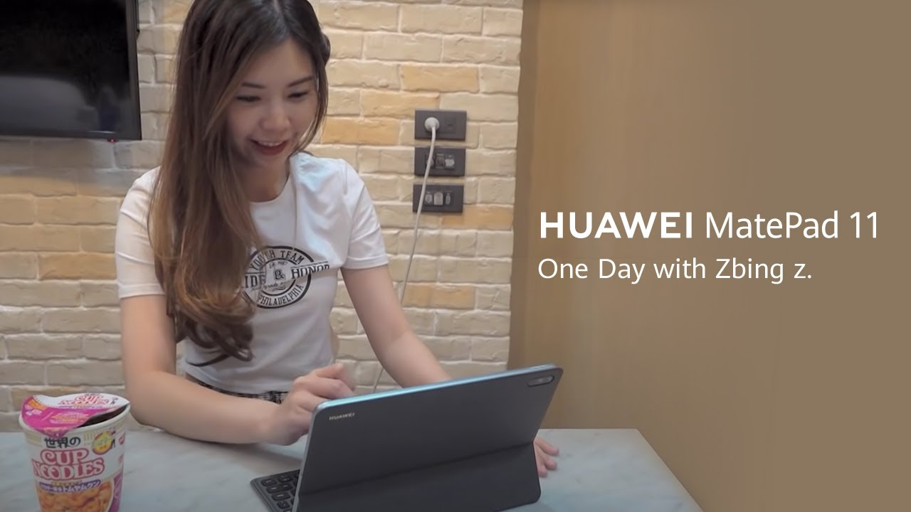 HUAWEI MatePad 11 - One Day with Zbing z.