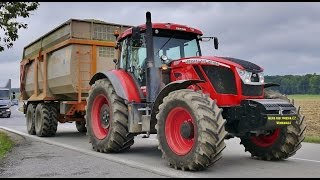 NEW ZETOR  CRYSTAL 160 + Romill 20 Atlant, New Holland FR9060 Silage 2015