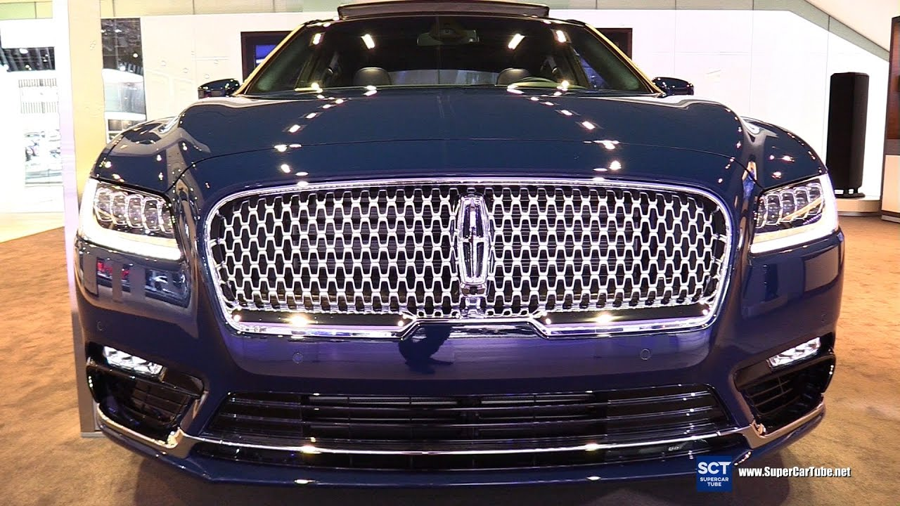 2017 Lincoln Continental Black Label Exterior And Interior Walkaround Detroit Auto Show