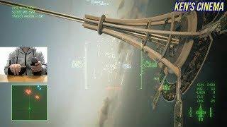 ACE COMBAT 7 Thrust master play expert & hard mode #4