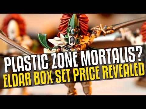 Plastic Zone Mortalis Rumors + Eldar Prices Revealed!
