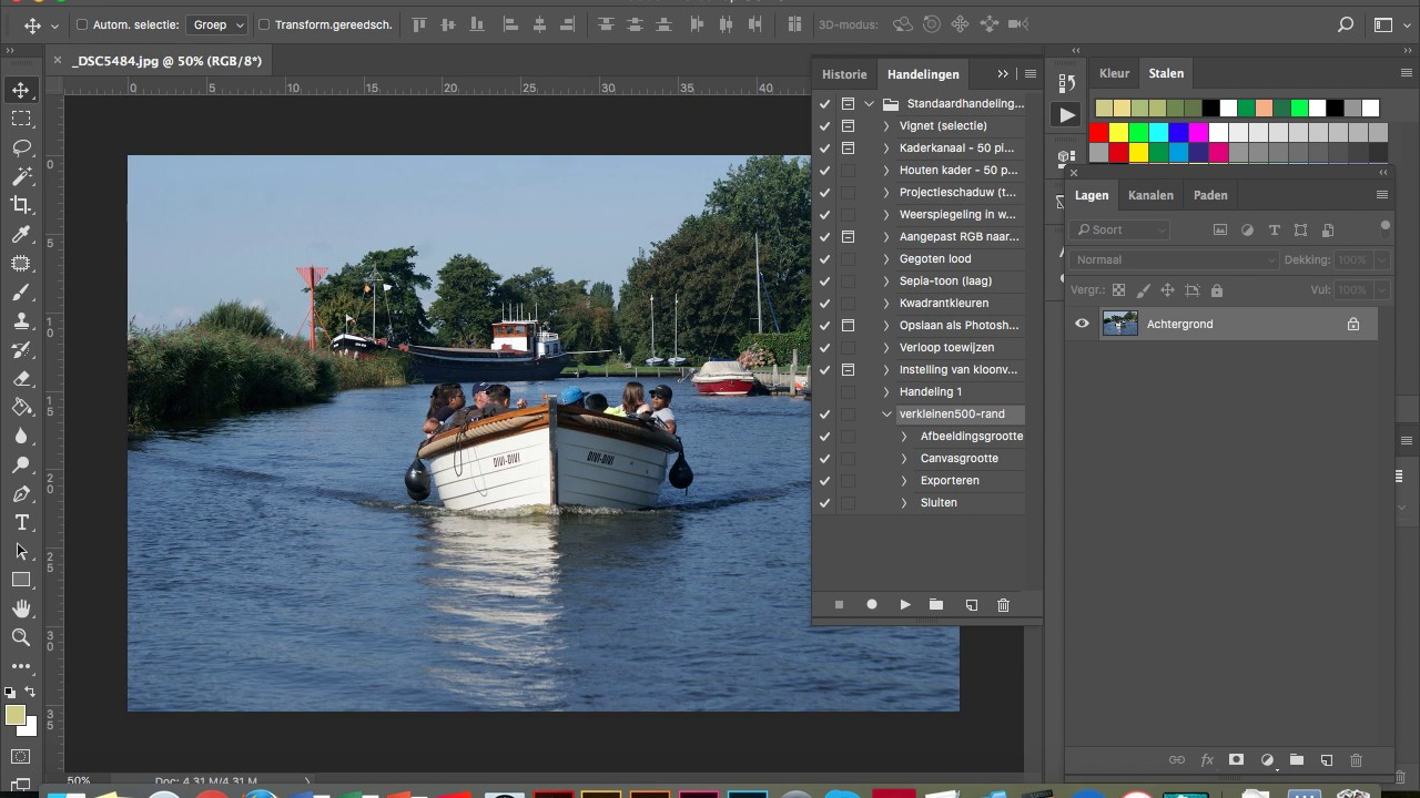 PS-Photo | Digital Photography: Acties in Photoshop
