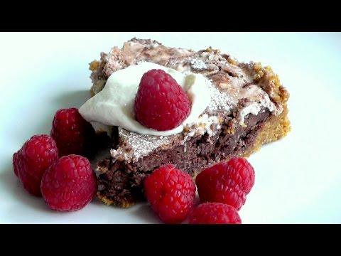 Chocolate Tart How to make easy cake recipe