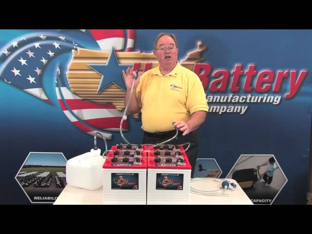 Battery watering kit - by U.S. Battery