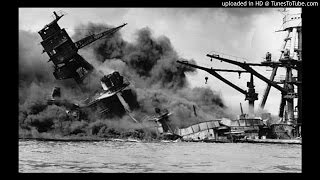 Pearl Harbor Attacked - 12/7/41 - John Daly Reports (CBS)