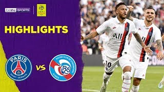 PSG 1-0 Strasbourg | Ligue 1 19/20 Match Highlights