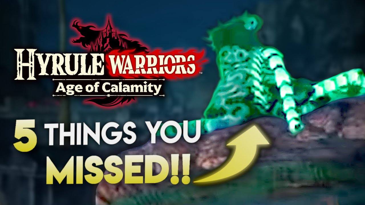 5 AMAZING Details REVEALED about Age of Calamity!! [Theories/Analysis]