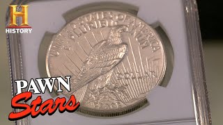 Pawn Stars: VERY RARE 1922 COIN IS HOLY GRAIL OF CURRENCY (Season 10) | History