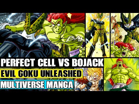 Dragon Ball Multiverse Chapters 27 And 28: Evil Goku Attacks