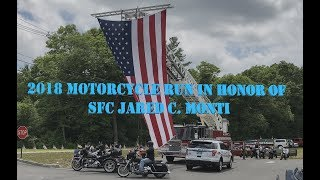 2018 Motorcycle run in honor of SFC Jared C. Monti