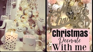 DECORATE WITH ME FOR CHRISTMAS 2019
