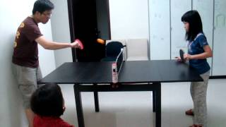 *dining* Table Tennis: Artengo Rollnet
