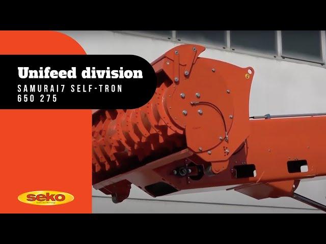 SAMURAI 7 SELF-TRON 650 275 USE AND MAINTENANCE INSTRUCTIONS