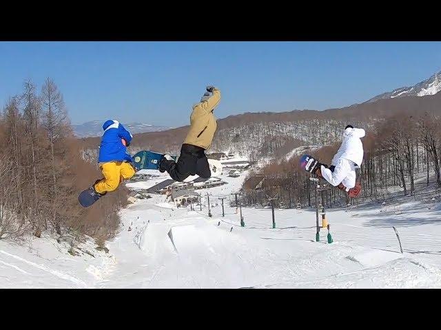 星野リゾート 猫魔スキー場 PARK SESSION