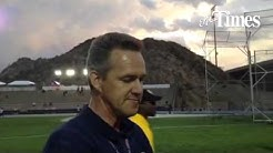 UTEP track and field coach Mika Laaksonen talks track and field