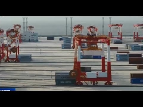 Say goodbye to man handling cargo, world's largest automated container terminal opens in Shanghai
