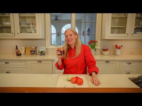 Organic Healthy Life - Homemade V8 Juice Recipe by Chef Nancy Addison