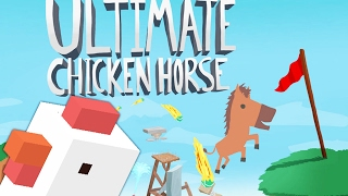 TROLLING YOUR FRIENDS - ULTIMATE CHICKEN HORSE (Level Editor Minigames)