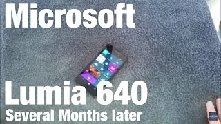 Microsoft Lumia 640 several months later