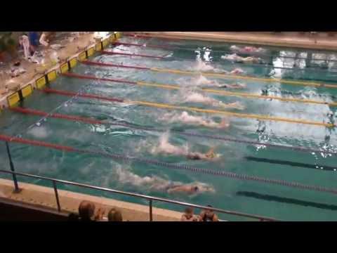 Liga SMS w Pływaniu - Oświęcim 2013 - 100dow s5 kobiet