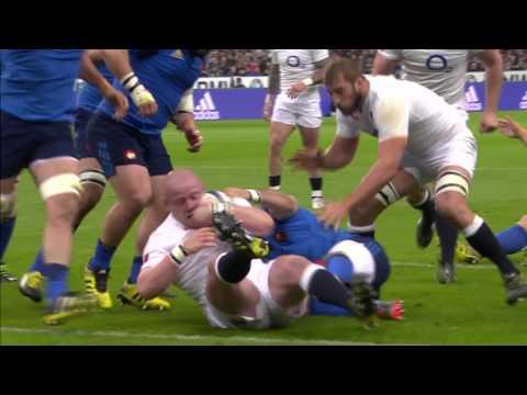 Highlights: France 21 England 31