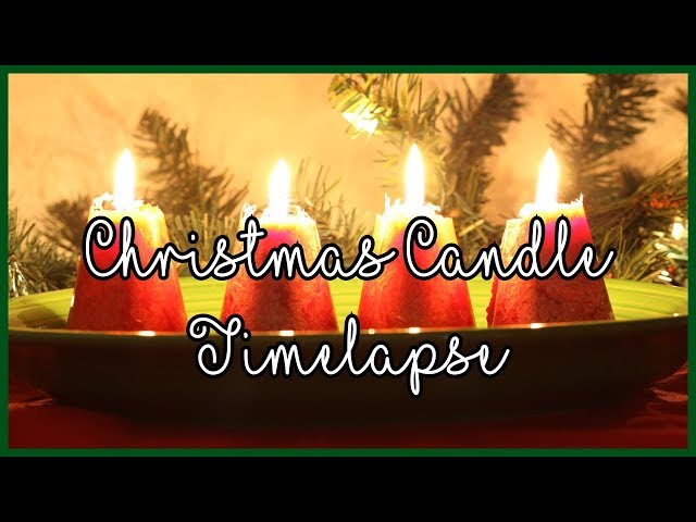 Christmas Candles Timelapse