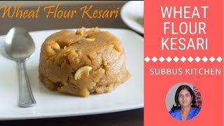 Wheat Flour Kesari