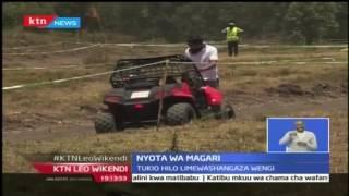 Msichana mchanga aliyewashangaza wengi kwa uhodari wa kuendesha gari