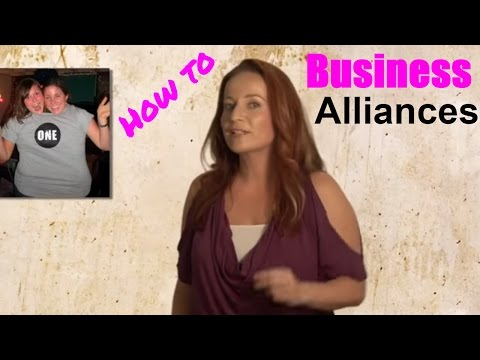 Business alliances for big and small business  - How to set