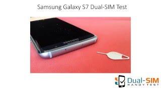 Samsung Galaxy S7 Dual-SIM Test: Unboxing