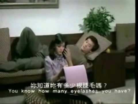 Idy Chan Và Adam Cheng trong Ánh đèn đêm qua.