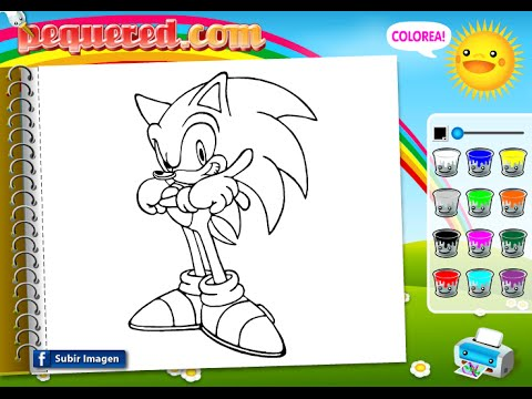 Sonic Coloring Pages - Coloring Pages For Kids