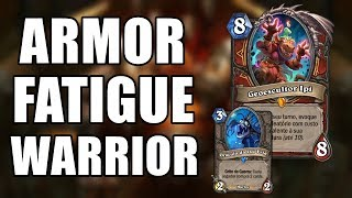 FATIGUE WARRIOR COM GEOESCULTOR IPI ( Guerreiro Fadiga ) | Hearthstone