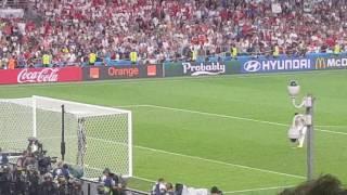 Pologne portugal 1/4 de finale euros 2016 tir au but    30 06 2016