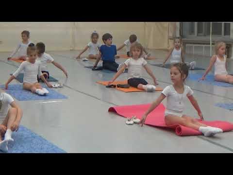 8 Часть.Урок балета для детей. Развитие данных у детей. Первые шаги в хореографии. Растяжка