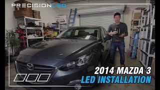 Mazda 3 LED Install - 2014 3rd Gen 2013+ DIY