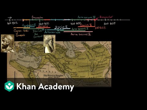 Cyrus the Great establishes the Achaemenid Empire | World History | Khan Academy