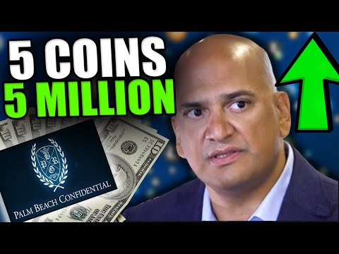 TEEKA TIWARIS 5 COINS TO 5 MILLION LEAKED! - Palm Beach Confidential Top Moonshots