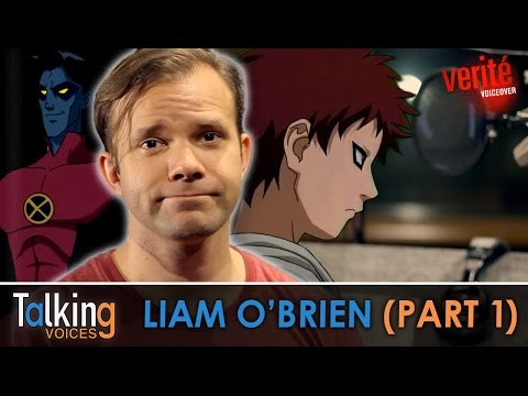 Liam O'Brien  Talking Voices Part 1