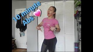 постер к видео 10 Minute Abs Workout. Тонкая талия за 10 минут.