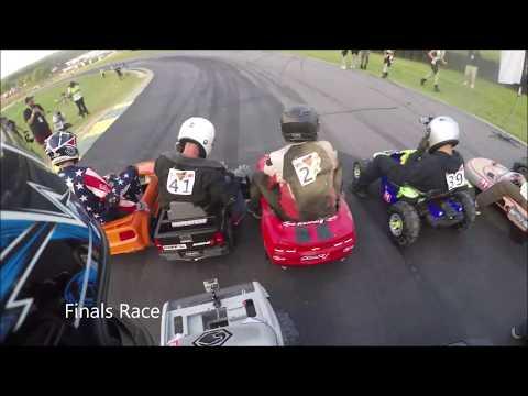 *CRASH* HYPERFEST 2019 Down Hill Power Wheels Race!