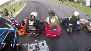 *CRASH* HYPERFEST 2019 Down Hill Power Wheels Race!