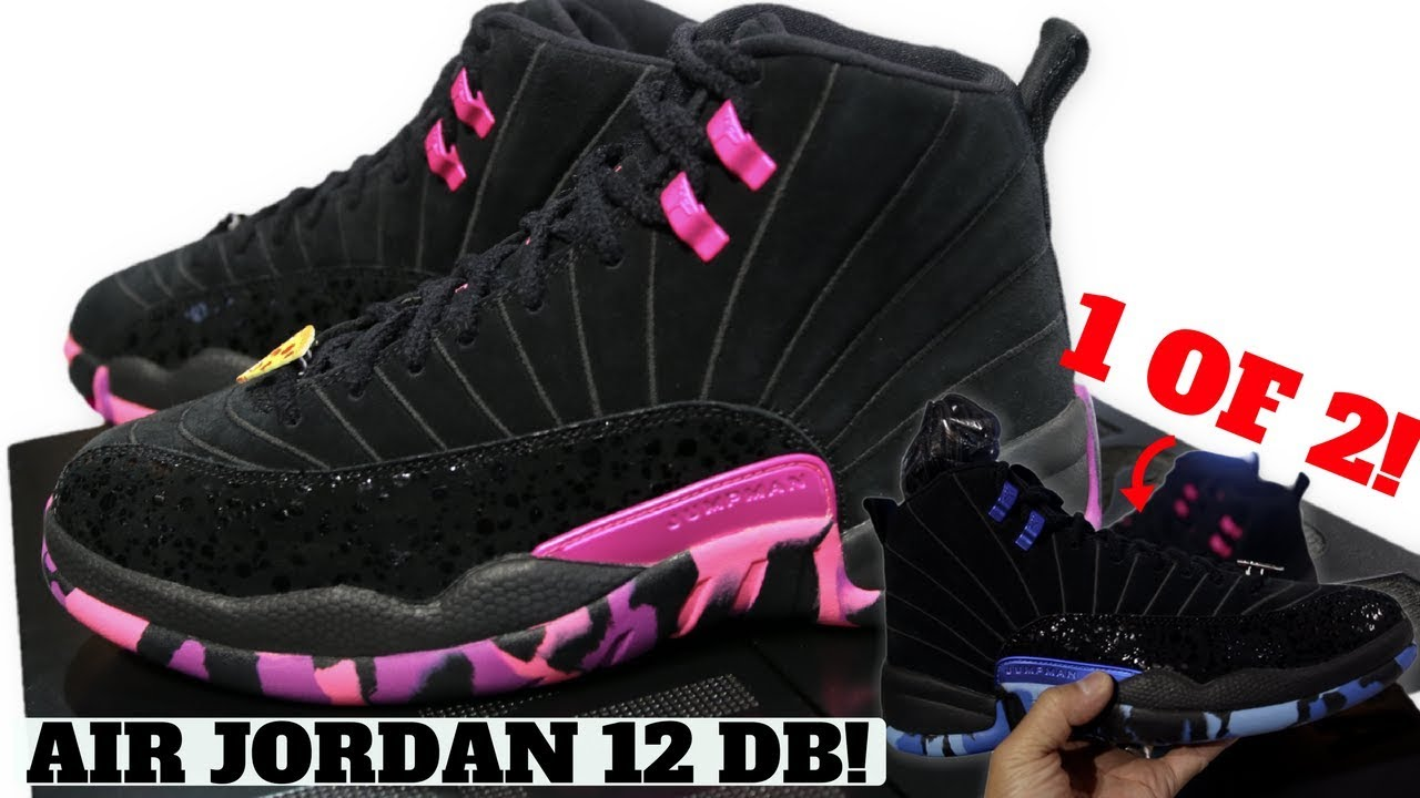 separation shoes 53fd3 11f4e 2017 AIR JORDAN 12 DB IN HAND!! Interview w/ Designer Carissa & Alternate  look!!