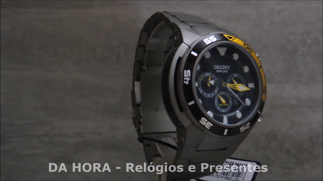 f6692ccab0d Relógio Orient Seatech Solar MBTTC014 P1GX
