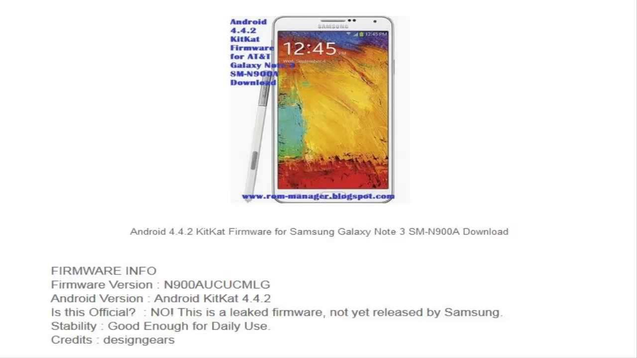 android 4.4 4 kitkat firmware download
