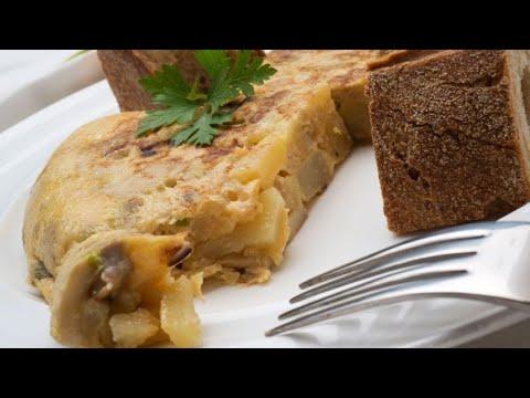 Receta De Tortilla De Hongos Y Patatas Karlos Arguiñano Youtube