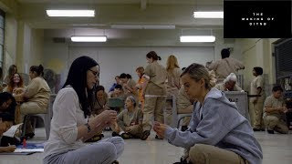 """Laura Prepon & Taylor Schilling Talk """"the Making Of Oitnb"""" 
