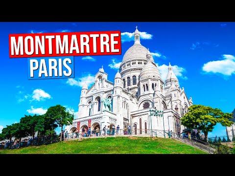 Montmartre - Paris, France. (Sacré-Coeur, Place du Tertre...)