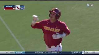 Baseball: USC 12, Arizona 2 - Highlights 4/14/18
