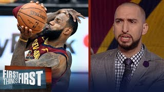 LeBron James is still incredible in his 15th year - How is he doing it? | FIRST THINGS FIRST